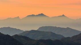 Puede la montaña Imagenes de archivo
