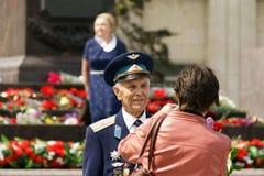 9 pueden el regimiento 2017 del Immortal de Taganrog Foto de archivo libre de regalías