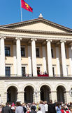 17 pueden familia real de Oslo Noruega Foto de archivo libre de regalías