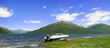 puelo озера Стоковое Фото