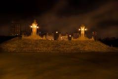 puente Испания valencia ночи mar del Стоковые Изображения