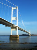 Puente #1 de Severn Imagenes de archivo