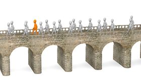 Puente libre illustration