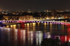Puente 2 del arco iris Foto de archivo