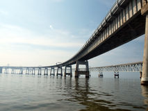 Puente 2010e de la bahía de Chesapeake Fotos de archivo libres de regalías