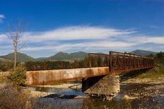 Puente abandonado Fotografía de archivo libre de regalías
