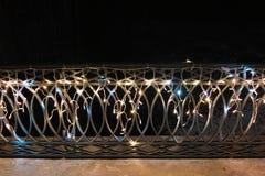 Puente adornado en Gascoña Fotos de archivo libres de regalías