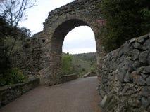Puente agradable y viejo Foto de archivo libre de regalías