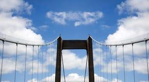 Puente al cielo Foto de archivo