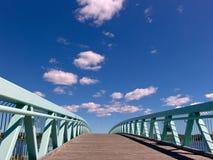 Puente al futuro Imagenes de archivo