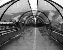 Puente al pueblo de Vail, Vail Colorado foto de archivo libre de regalías