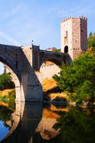 Puente of Alcantara over Tagus River Royalty Free Stock Photo