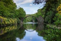 Puente Alemania Fotografía de archivo libre de regalías