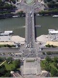Puente Alexandar Foto de archivo libre de regalías