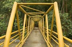 Puente amarillo Fotografía de archivo libre de regalías