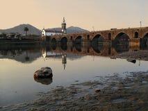 Puente antiguo Foto de archivo libre de regalías