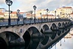 Puente antiguo en Pontevedra foto de archivo