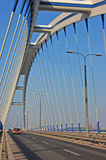 Puente Apolo en Bratislava Imagenes de archivo