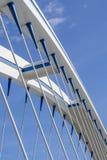 Puente Apolo en Bratislava Foto de archivo libre de regalías