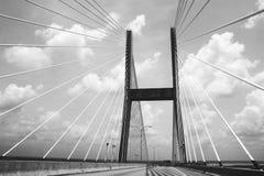 Puente ardiente foto de archivo