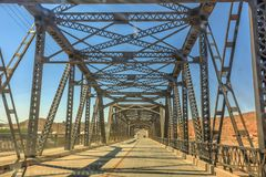 Puente Barstow del hierro imágenes de archivo libres de regalías
