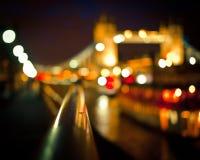 Puente borroso de la torre, Londres imagen de archivo libre de regalías