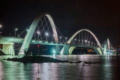 Puente Brasilia de JK Fotos de archivo libres de regalías