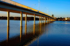 Puente brillante foto de archivo