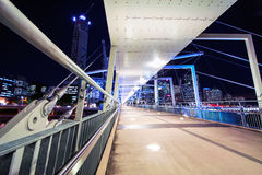 Puente Brisbane de Kurilpa imágenes de archivo libres de regalías