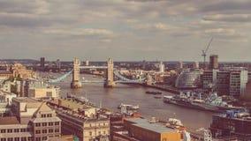 Puente británico de la torre de Londres Foto de archivo libre de regalías