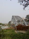 Puente británico del hierro fotografía de archivo libre de regalías