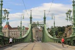 Puente Budapest de la libertad Fotos de archivo libres de regalías