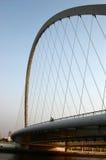 puente Cable-permanecido Foto de archivo