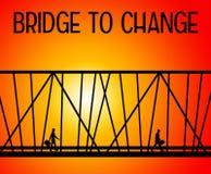 Puente a cambiar Imagen de archivo libre de regalías