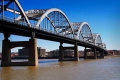 Puente centenario Imagenes de archivo