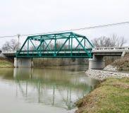 Puente centenario de la Primera Guerra Mundial imagen de archivo