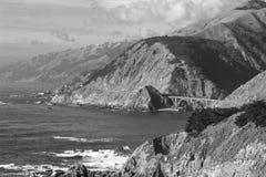 Puente central de la costa Fotos de archivo