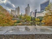 Puente Central Park, New York City de Gapstow Imagen de archivo libre de regalías