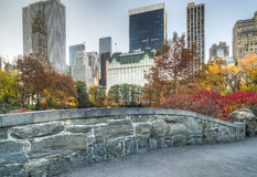 Puente Central Park, New York City de Gapstow fotos de archivo libres de regalías
