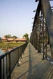 Puente Chiangmai Tailandia del hierro Fotografía de archivo libre de regalías