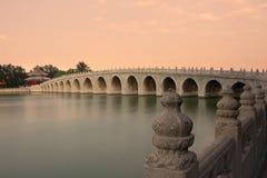 Puente chino fotografía de archivo