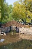 Puente chino arqueado Fotografía de archivo