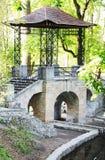 Puente chino en Ucrania Foto de archivo libre de regalías