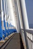 Puente colgante 2 fotografía de archivo