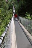 Puente colgante de Capilano Fotos de archivo