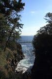Puente colgante de Kadowaki fotografía de archivo libre de regalías