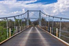 Puente colgante 1 de la regencia imagenes de archivo