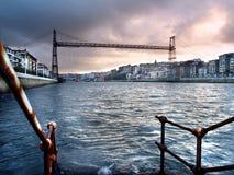 Puente colgante de Vizcaya Royalty Free Stock Photo
