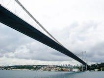 Puente colgante, Estambul Imagen de archivo