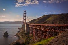 Puente colgante San Francisco CA del Golden Gate Fotografía de archivo libre de regalías